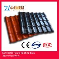 synthetic resin thermal insulation interlocked shingle roof tile