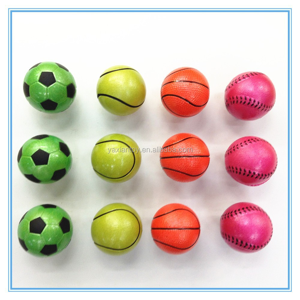wholesale in China colorful 32mm mixed bouncing ball