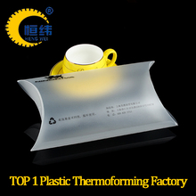 PP clear plastic folding packaging box for Pillow case