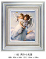 Love's angel crystal 5D diamond painting for wholesale round diamond embroidery kits