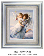 Love's angel crystal diamond painting for wholesale