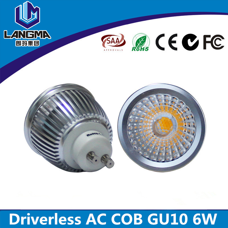 China Supplier dimmable surface mounted No <strong>driver</strong> led spotlight price