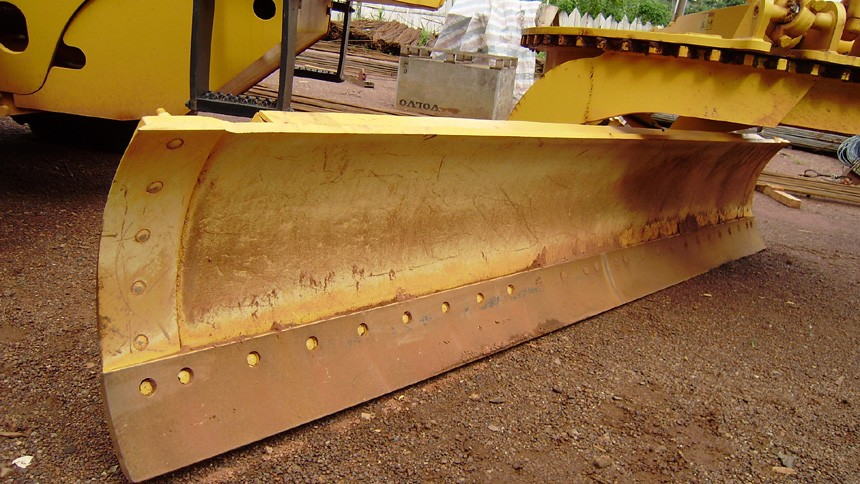 XCMG motor grader front blade, XCMG parts; rabble blade