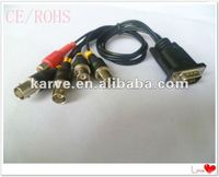 G-KARVE HDB15P M 4BNC F+red RCA F cable
