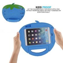 2014 new products cute kids Shockproof EVA Foam tablet covers & cases with handle for iPad mini