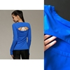Solid Color Women Long Sleeve T