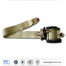 Top brand Auto's friend polyester and steel material 3point retractable safety belt
