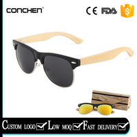 Bamboo Sun Glasses Mirror Refective Sunglass