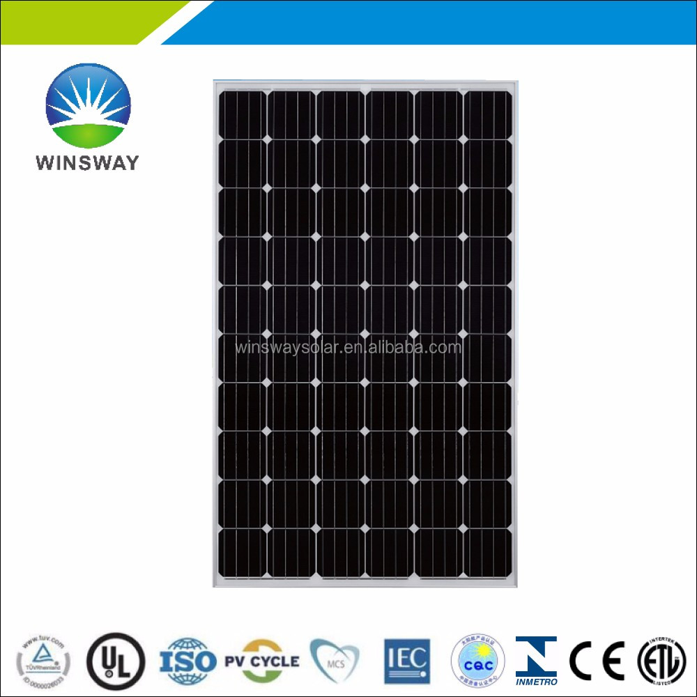 GCL mono solar cells in bulk 270 watt 285 watt pv solar module wholesale solar panel in China