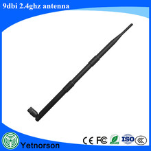 high gain 9dBi antenna 2.4G Wireless WIFI Antenna with Extender WLAN RP-SMA for Router Modem