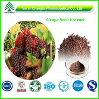 Grape Seed Extract P.E. Food grade Pure Proanthocyanidins Powder