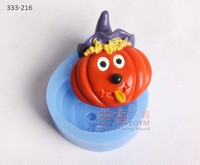 pumpkin shaped silicone mould,silicone pumpkin cake mold,cake decorating tools