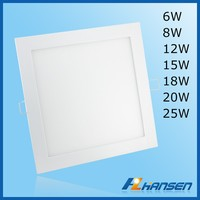 The latest product small size CRI>80 90 6w led office light 120lm w led panel
