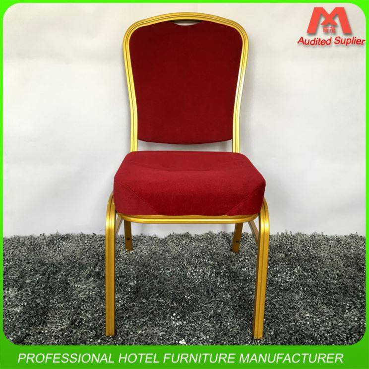 Wholesale Steel Elegant Used Hotel Aluminum Banquet Chair On Sale Chairs