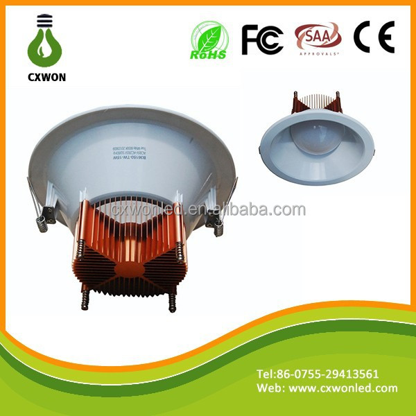 Shenzhen supplier ultra slim 4 inch led downlight 12w led downlight www china xxx com with Double color design