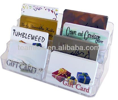 Custom Made Acrylic Greeting Card Display Rack