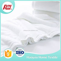 Manufacturer Wholesale White Cotton Bath Towels Textile