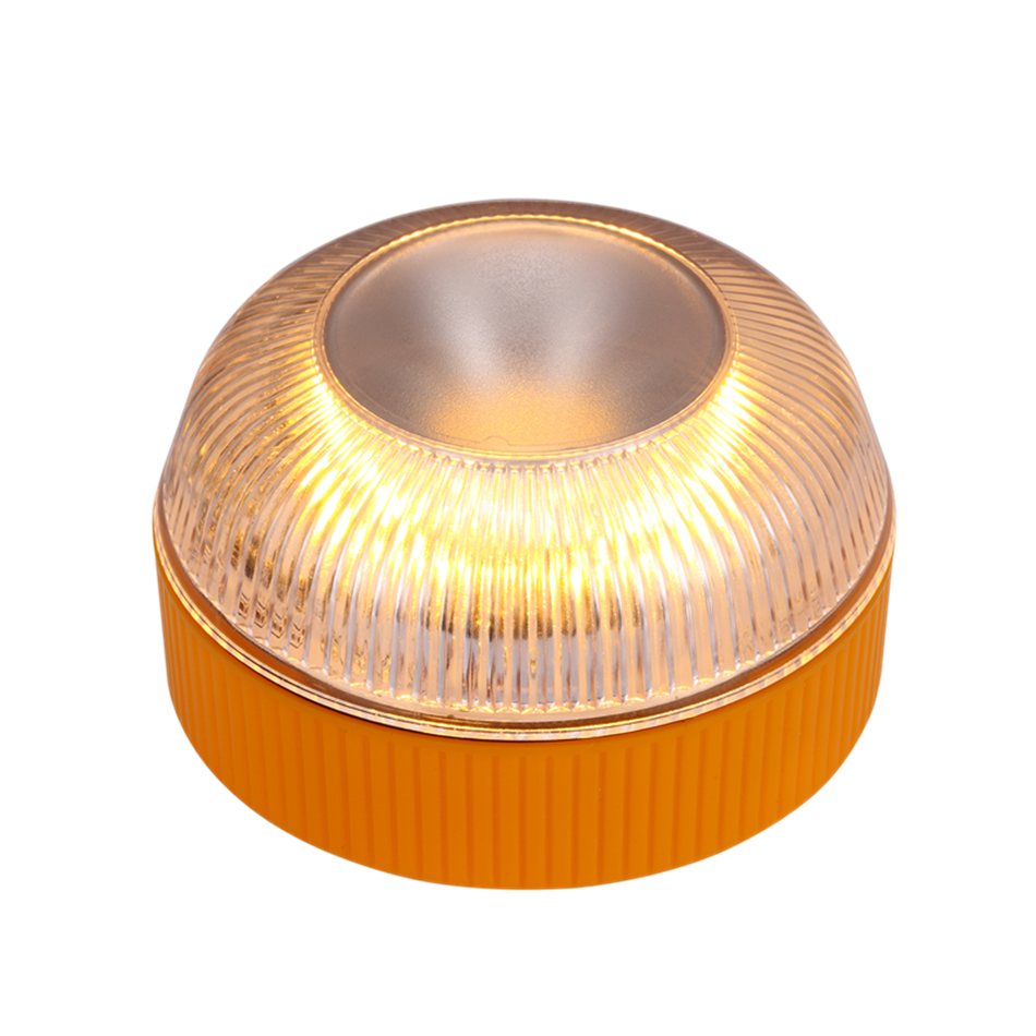 Amber 15 LED 50cd warning flashing light LED emergency light with magnet for Vehicles