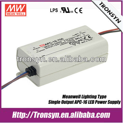 Meanwell constant current 35w 700ma led display power supply APC-35-700