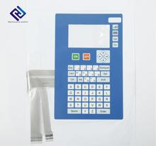 Customized High Quality Waterproof PET/PC Circuit Membrane Keyboard With 3M Adhesive