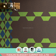 rubber backing nylon commercial carpet tiles