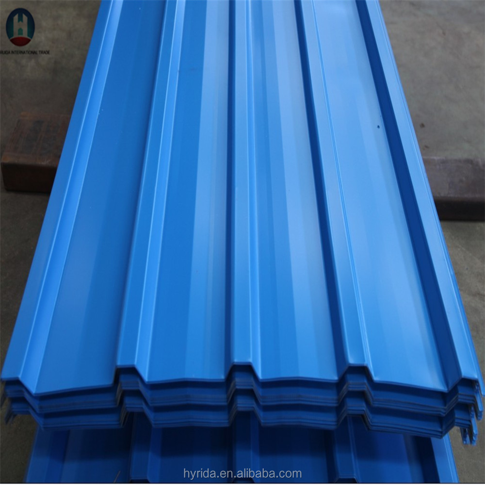 color coated corrugated steel plate /Roof building material/Galvanized aluminium zinc steel plate