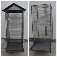 2014 Wholesale Roof Metal Bird Cages, Parrot Cages, Bird Breeding Cages