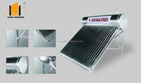 Integrated Pressure bearing Type Solar water Heater solar collector heat pipe