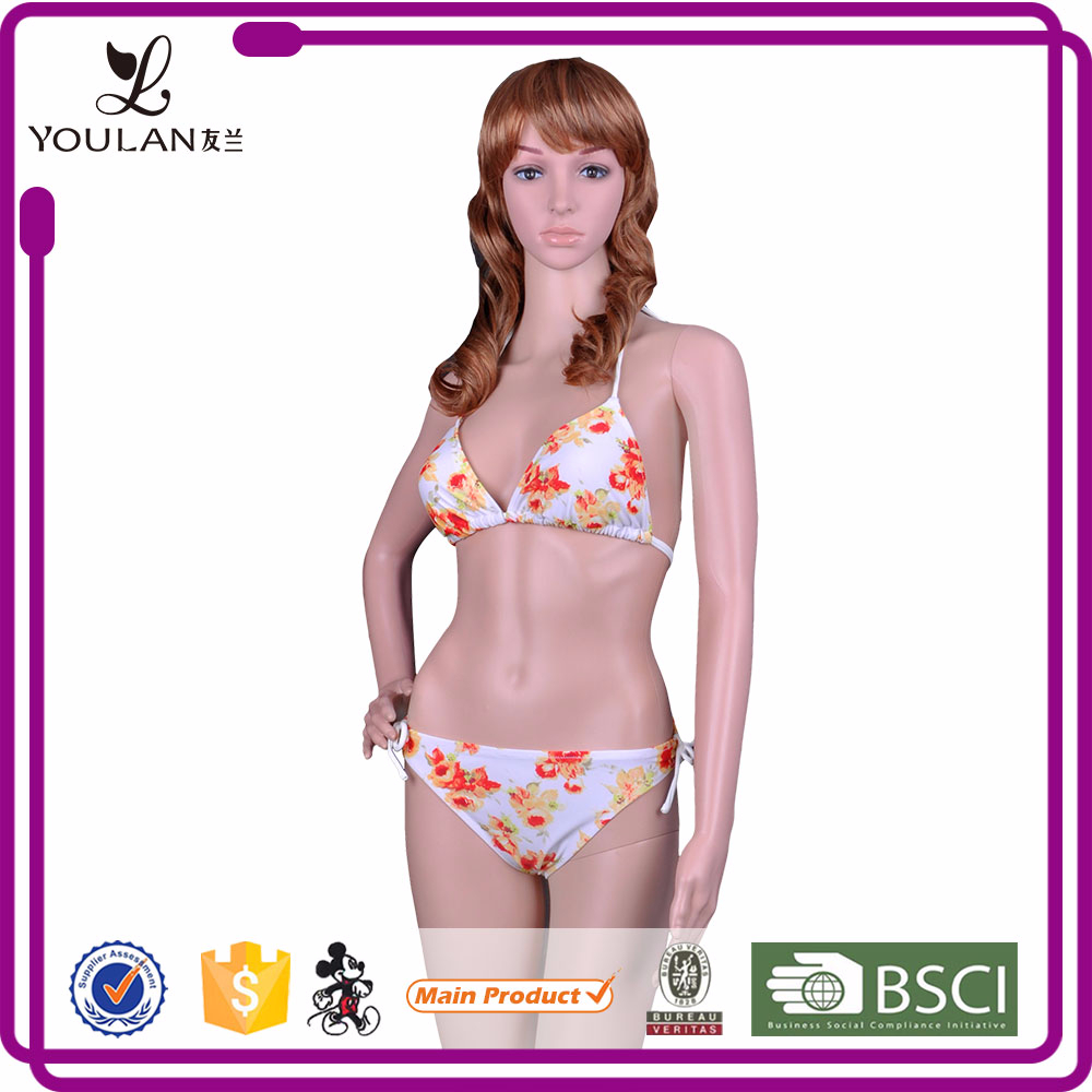 Wholesale Pretty Corset Breathable Fancy Bikini Set