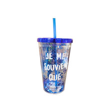 Promotional Various Models Plastic Travel Cup With Straw