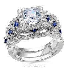 Wholesale diamond ring for men 14k gold engagement ring prices pt900 diamond ring