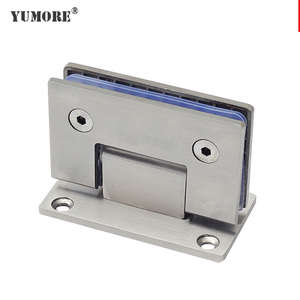 Yumore windows accessories stainless steel concealed shower glass door hinge
