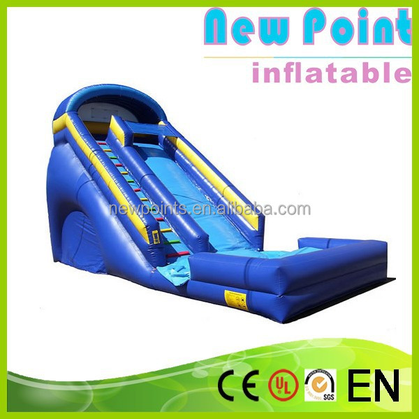 New Point inflatable water slides,commercial water slide