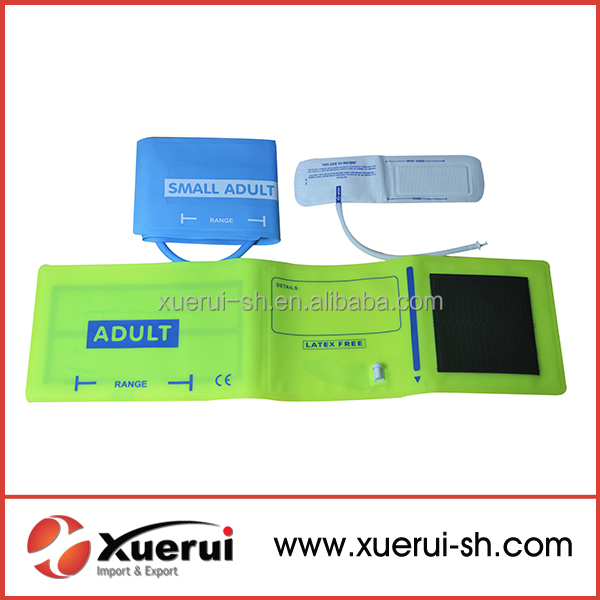 CE approve Blood pressure reusable adult single tube NIBP cuff