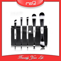MSQ 5 pcs Black and White Professional Foundation Brush Make-up Brush Sets