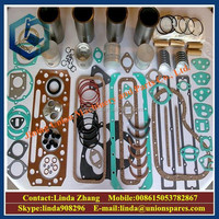 Construction equipment spare parts PC400-7 head cover gasket seal kit 6156-11-8810 excavator cylinder head gasket kit
