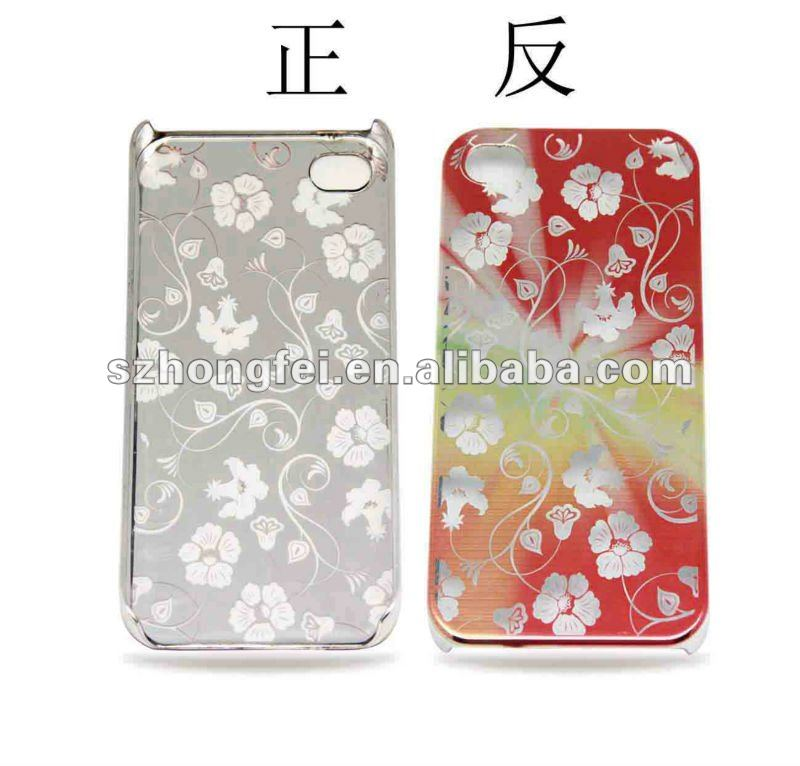 special flower net cell phone case for iphone4/4s with beautiful looking