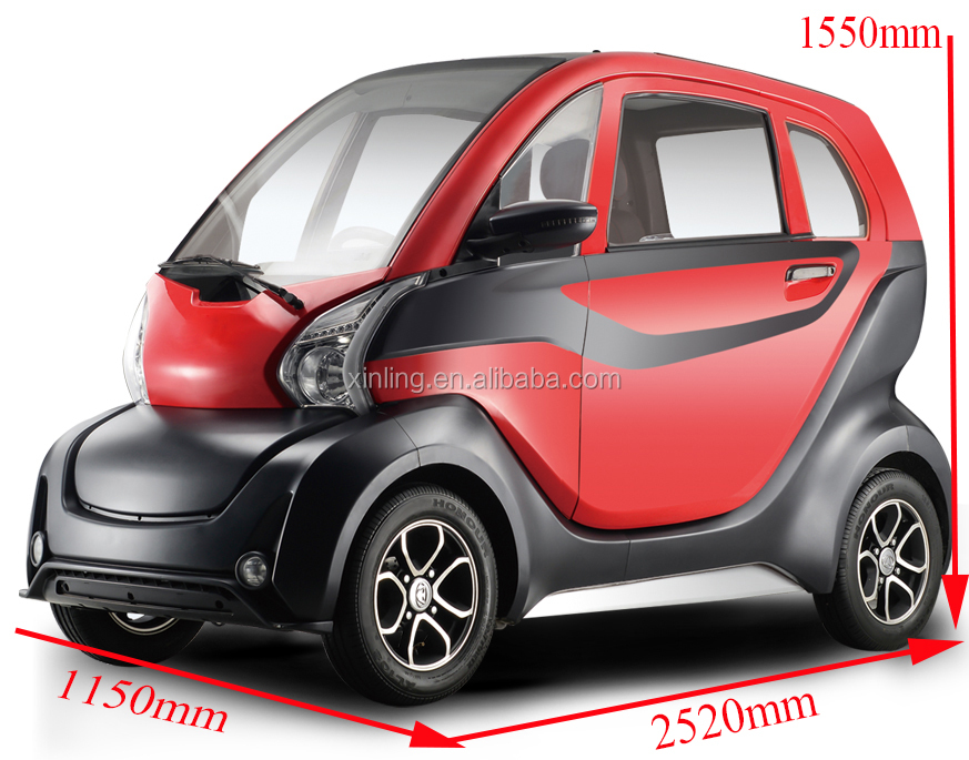 2018 new arrival fully enclosed 1200W electric 4 wheel scooter e-car with higher quality for sale