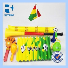 New Product Recommend 2014 World Cup in Brazil Fans Articles Football Cheer Any Colour Any Flag Customization