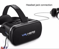 Shenzhen vr world box for mobile phone play gaming virtual reality headset