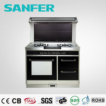 Integrated Stove 5 in 1 Free Standing Cooker