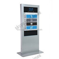 47 inch high end 1080p digital signage touch totem hd media player with nas function