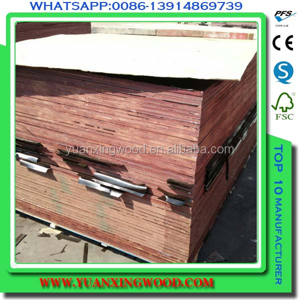 outdoor film faced plywood for engineered building construction