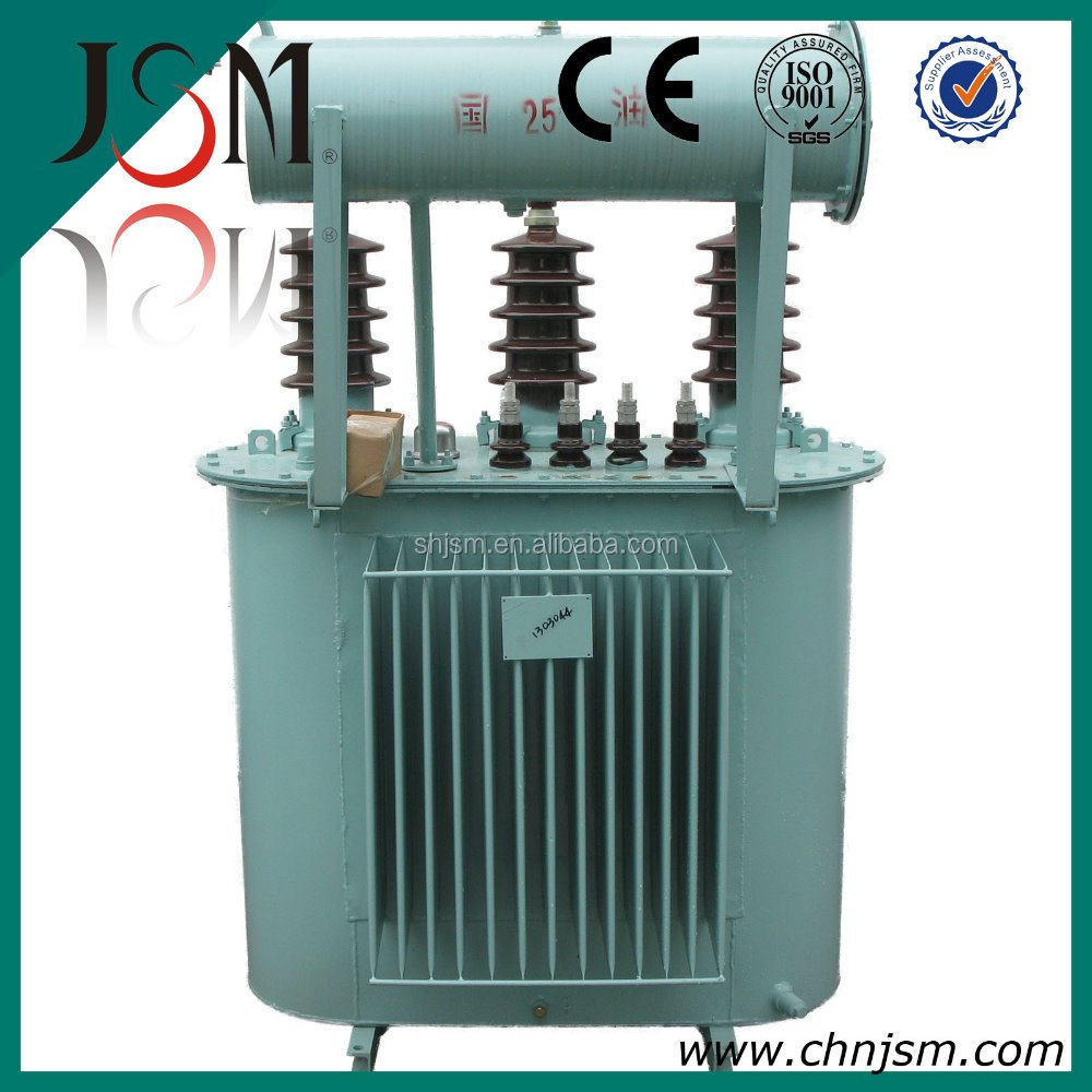 Power usage transformer 200 KVA 33 KVA 100%copper wound with conservator