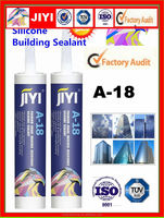 construction grade weatherproof neutral cure uv resistant silicone sealant for fixing and boning