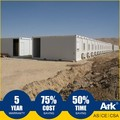 Ark Top Quality Good Price Long Lifespan Flatpack Prefabricated Steel Mining Field Transportable Amenities