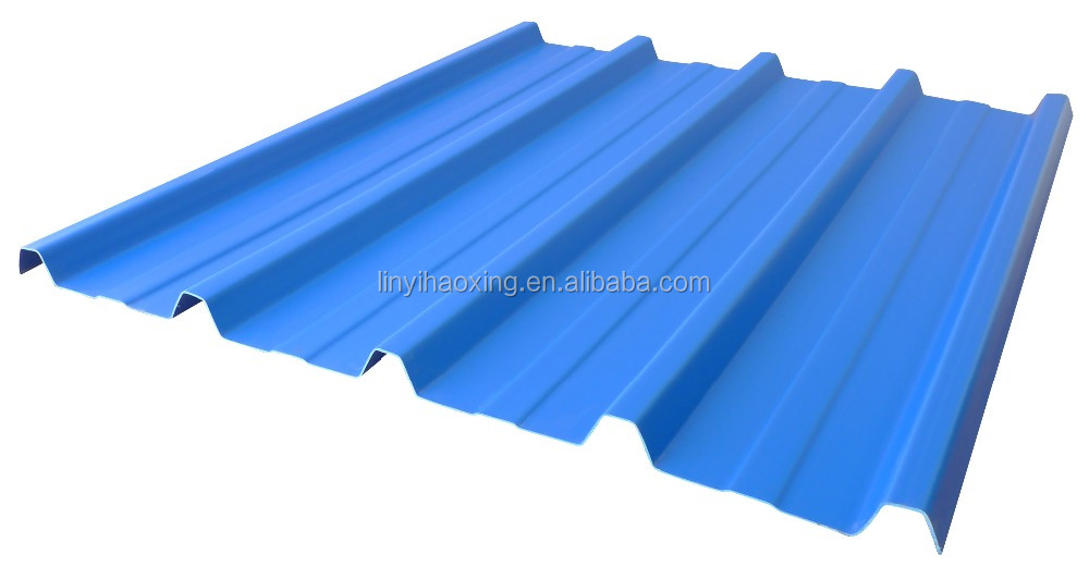 Galvanized Surface Treatment color painted steel corrugated sheets