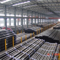 thin wall thickness welded astm a53 schedule 40 black steel pipe