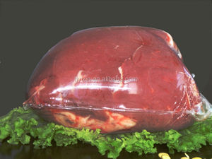 safe and environmental shrink bag for frozen meat packaging