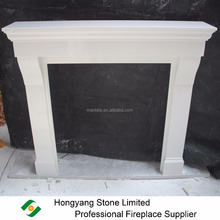 French Bespoke Micro Marble Complete Fireplace Surround